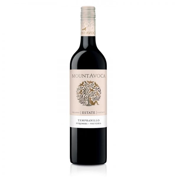 Mount Avoca 'Estate' Organic Tempranillo